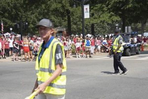 crowd and traffic control